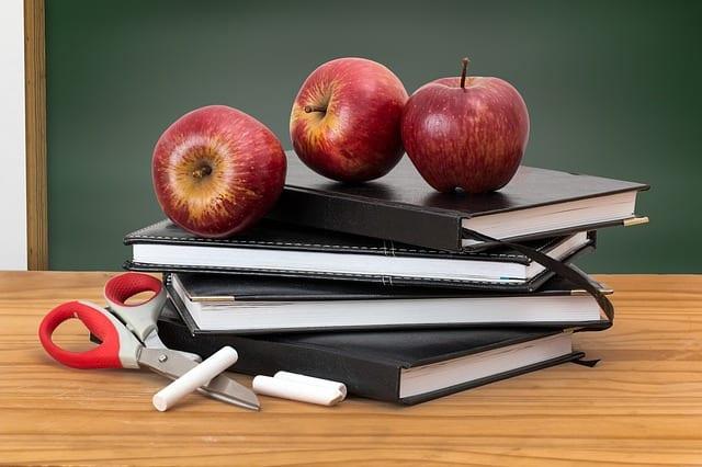 תפוחים ספרים וגירים
