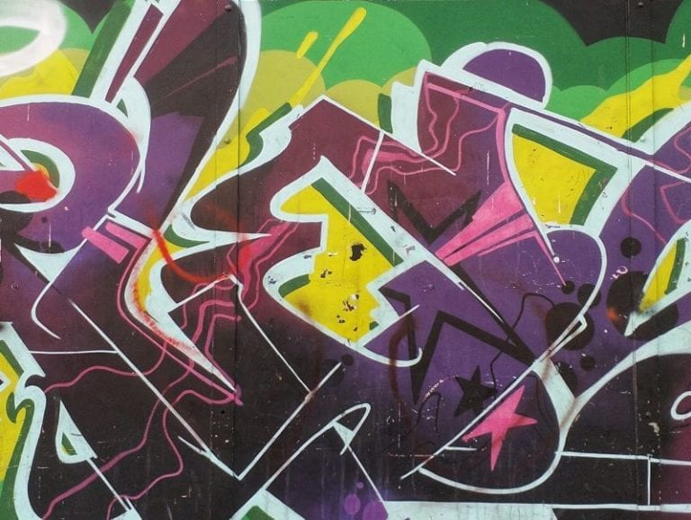 גרפיטי צבעוני