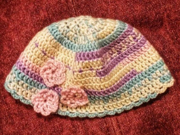 כובע לתינוקת