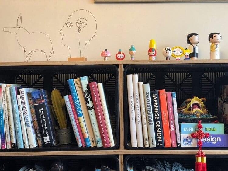 ספריה בבית של שרי ברנע גבעון