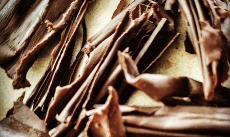 שוקולד מקופלת ביתי