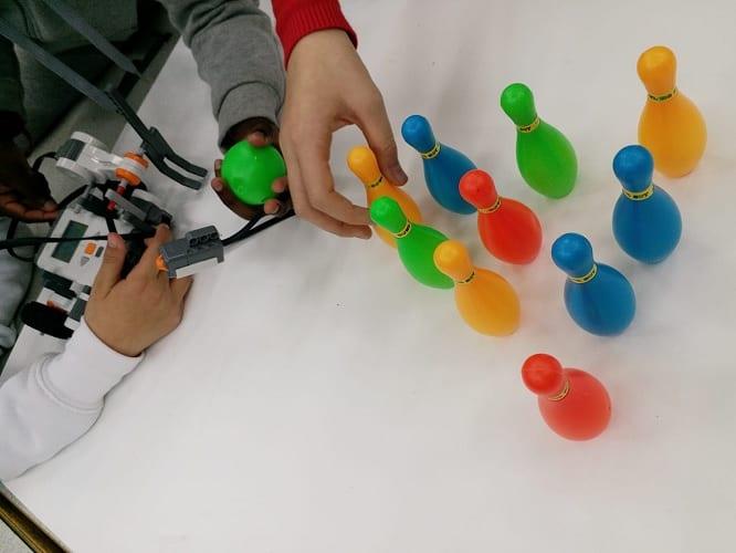 תחרות רובוטיקה מרכז מחוננים רמלה
