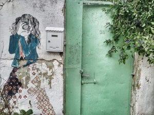 ציור קיר נחלאות מצלמת רחוב